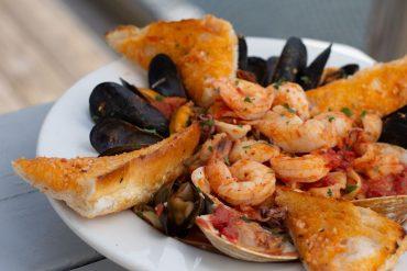 frutos do mar no carrao