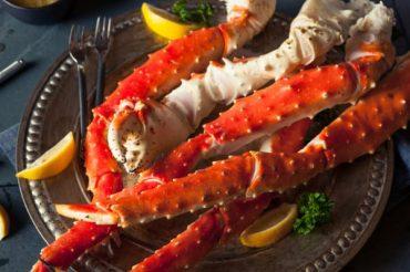 Pata de caranguejo e seus valores nutricionais na alimentação