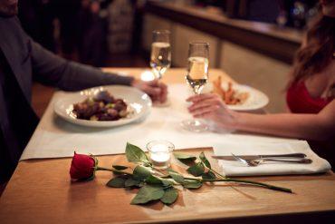 Receitas para um jantar romântico
