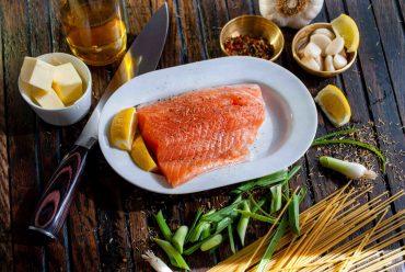 Dieta com frutos do mar